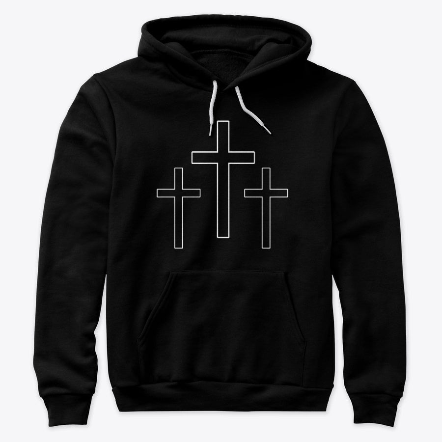 Three Crosses BLACK
