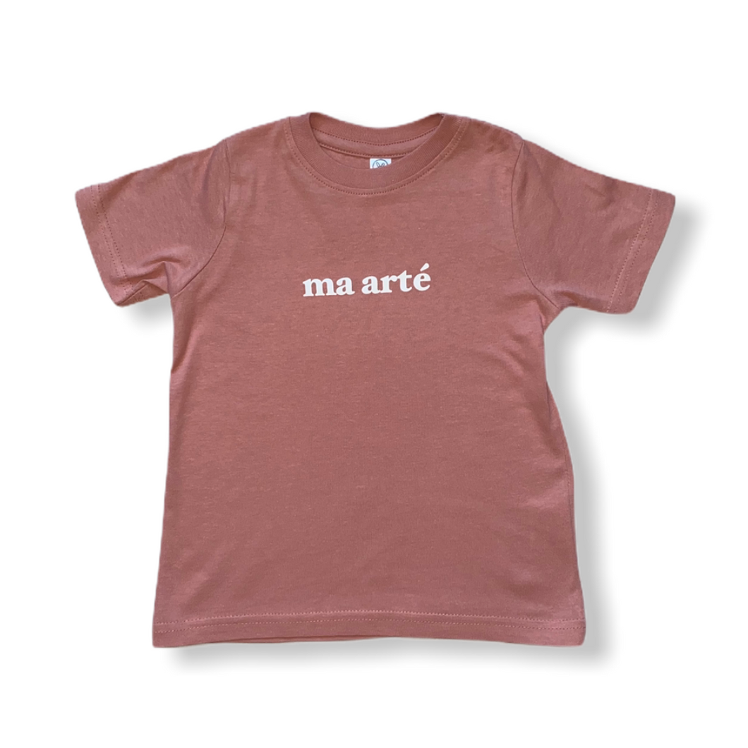 Ma Arté Mauve Youth Tee