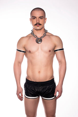 Leather Sports Shorts (4823883710602)