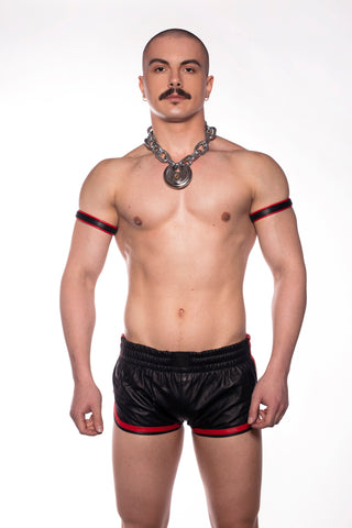 Leather Sports Shorts (4823892426890)