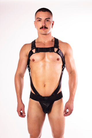 Noir Body Harness (4823367483530)