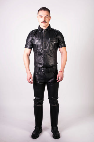 Slim Fit Police Shirt (4823697916042)
