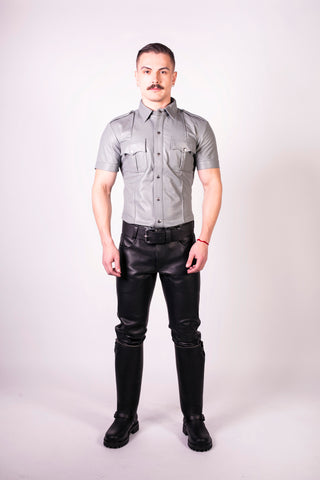 Slim Fit Police Shirt (4823742283914)