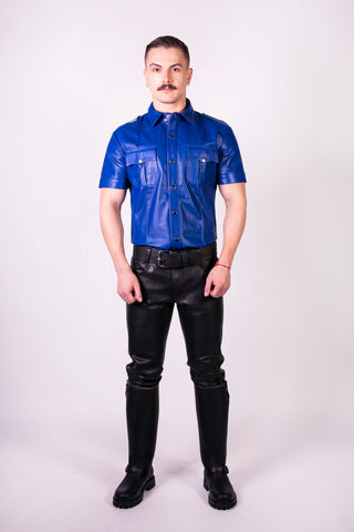 Slim Fit Police Shirt (4823731732618)