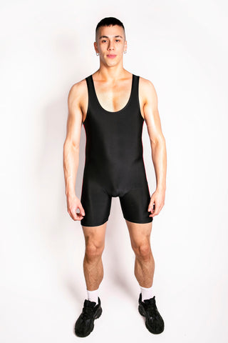 Red Side Stripe Singlet (4823069524106)