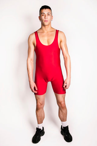 Black Side Stripe Singlet (4823079485578)