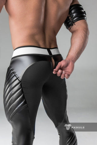 Armored Leggings Zipped Rear (4881429561482)