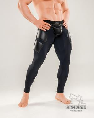 Fetish Leggings Zipped Rear (4881566400650)