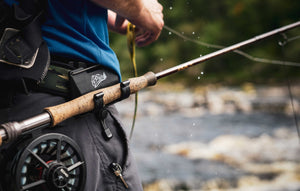 The O'Pros Fly Fishing 3rd Hand Rod Holder is the perfect belt clip rod holder to give you a helping hand.