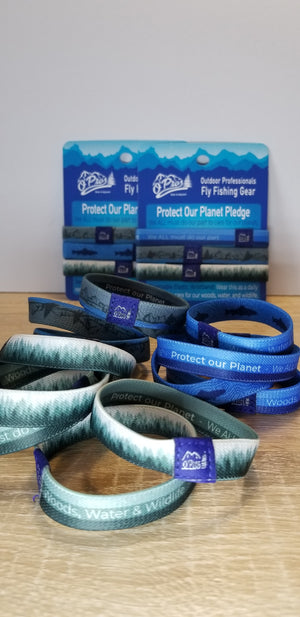 Protect Our Planet Pledge Wristbands
