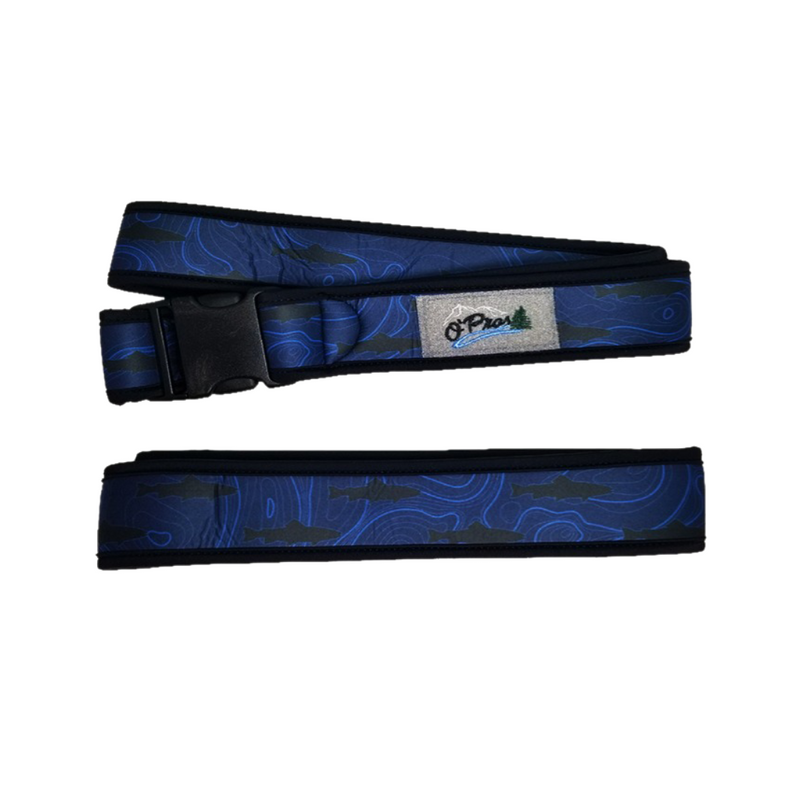 Neoprene Wading Belt -Topographic Camo  | O'Pros Fly Fishing