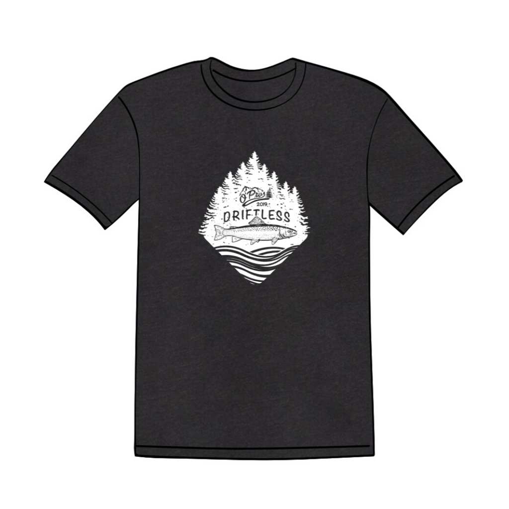 Driftless 2019 Black T-Shirt | O'Pros Fly Fishing