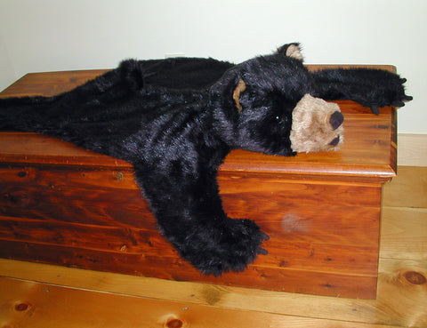Plush Bearskin Rug - Medium