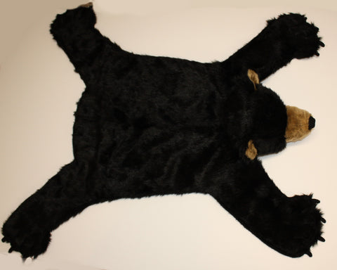 Plush Bear Rug - Medium, Open Mouth