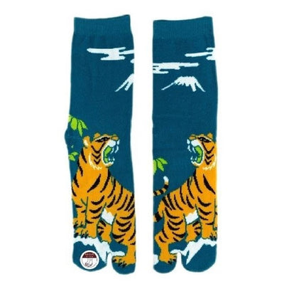 Japanese Tabi Socks 【Tiger】 - Getamashi