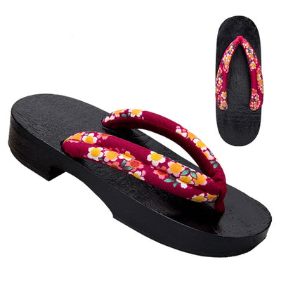 Women's Geta Sandals 【Blossom】