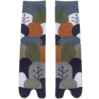Japanese Tabi Socks 【Wood】