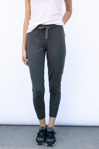 The Allie Joggers in Charcoal