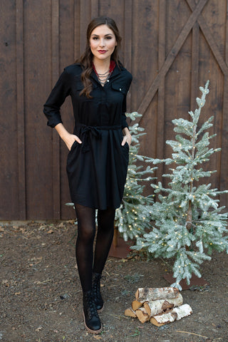 The Amy Dress in Black