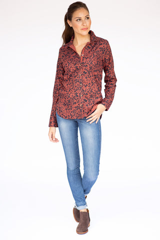 The Amy Shirt in Ditsy Floral