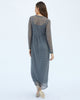The Ainsley Dress in Charcoal