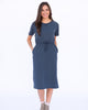 The Carley Dress in Navy