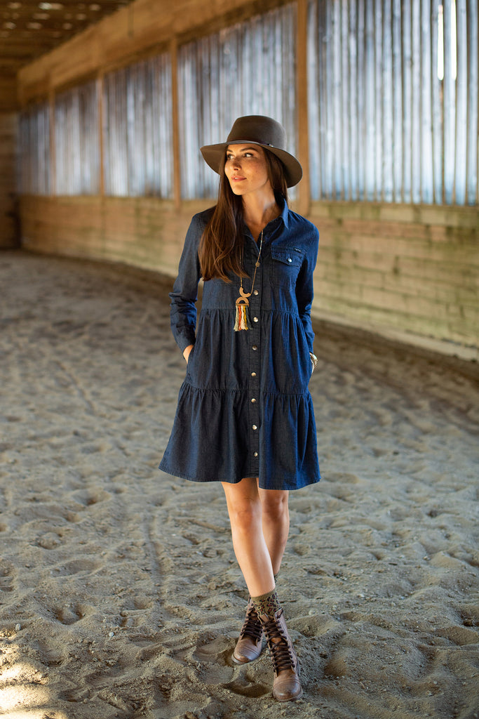 The Cora Denim Dress