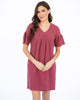 The Cozette Dress in Berry