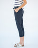 The Cropped Joggers in Navy