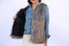The Ivy Faux Fur Vest