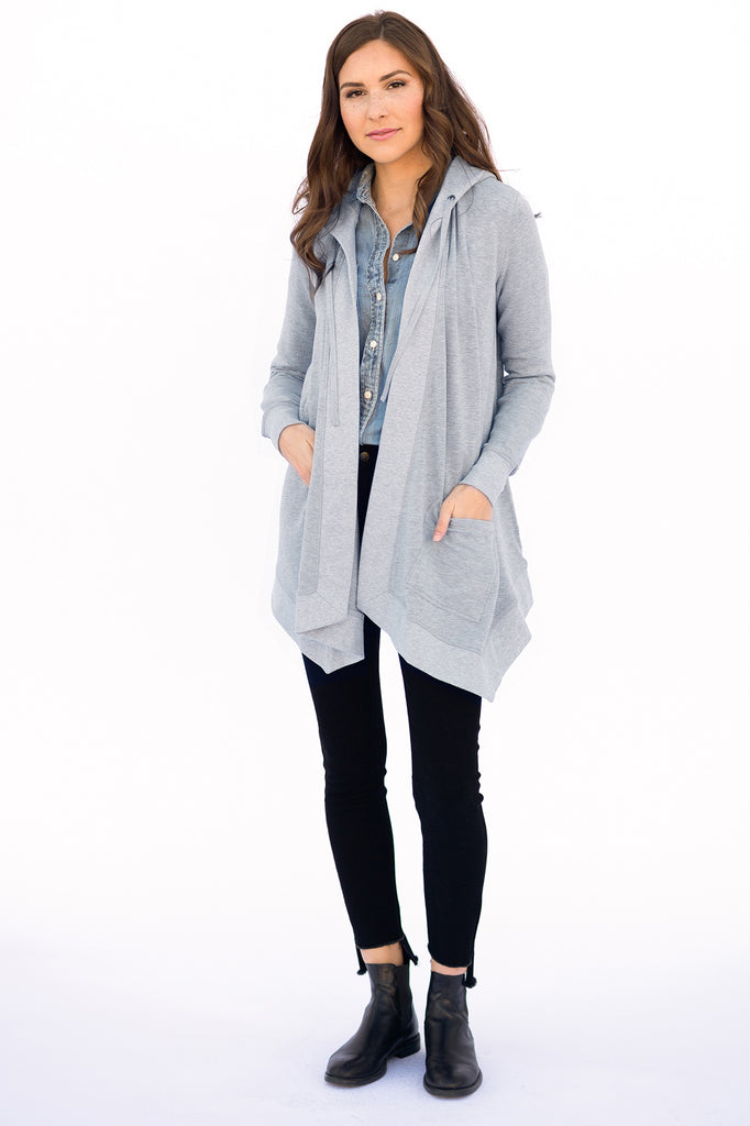 The Nicole in Heathered Grey