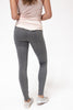 The Ponte Pant in Heathered Charcoal