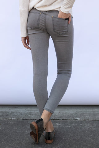 The Denim Skinny in Grey
