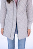 The Sydney Quilted Jacket in Grey