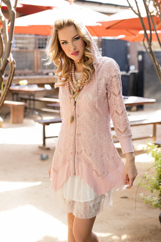 The Josie Tunic in Soft Pink