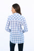The Amy Shirt in Provincial Blue Gingham