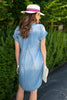 The Harper Dress in Denim Tencel