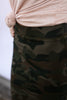 The Pencil Skirt in Camo