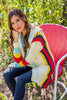 The Rory Sweater in Multicolor Stripe