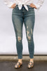 The Premium Distressed Denim Skinny