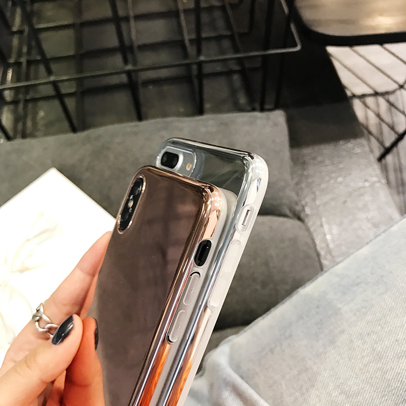 Shiny Plated Phone Case