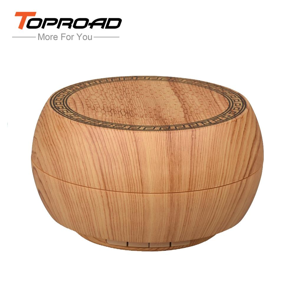 Wooden Bluetooth Speaker w/ Microphone