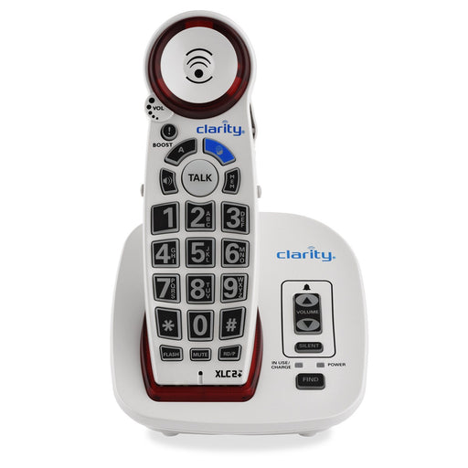 Clarity XLC2PLUS DECT 6.0 Amplified Cordless Big Button Speakerphone with Talking Caller ID