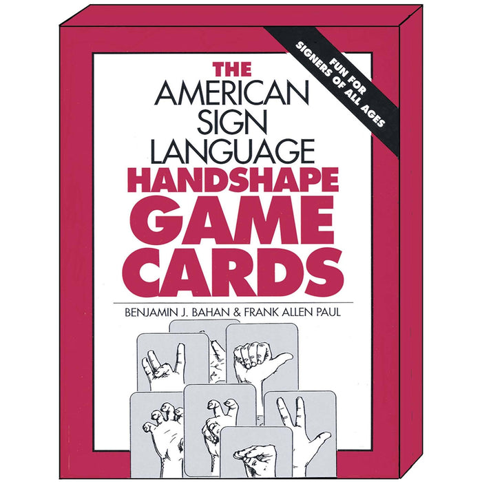 DawnSignPress ASL Handshape Game Cards