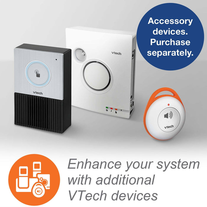 Vtech SN7021 Cordless Audio Doorbell Works With Vtech CareLine SN5127 or SN5147 Phones Available Accessories
