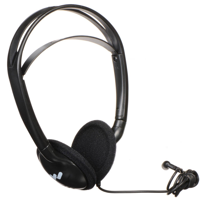 Williams Sound Heavy-Duty, Folding, Mono Headphones HED 027