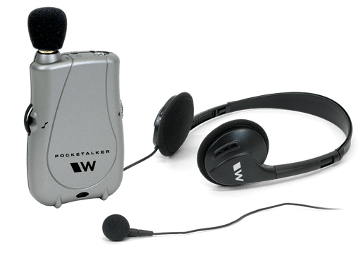Williams Sound Pocketalker Ultra Amplifier WITH Over the Head Headphone and Mini Earbud Pocketalker