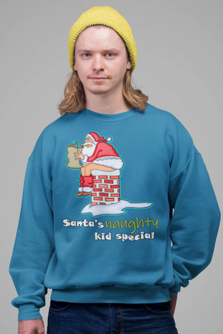 Santa's Naughty Kid Special Sweatshirt