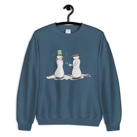 Freeze, Or I'll Heat You! Sweatshirt