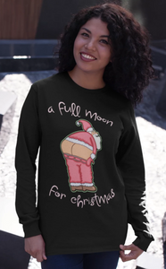 A Full Moon For Christmas Long Sleeve Shirt